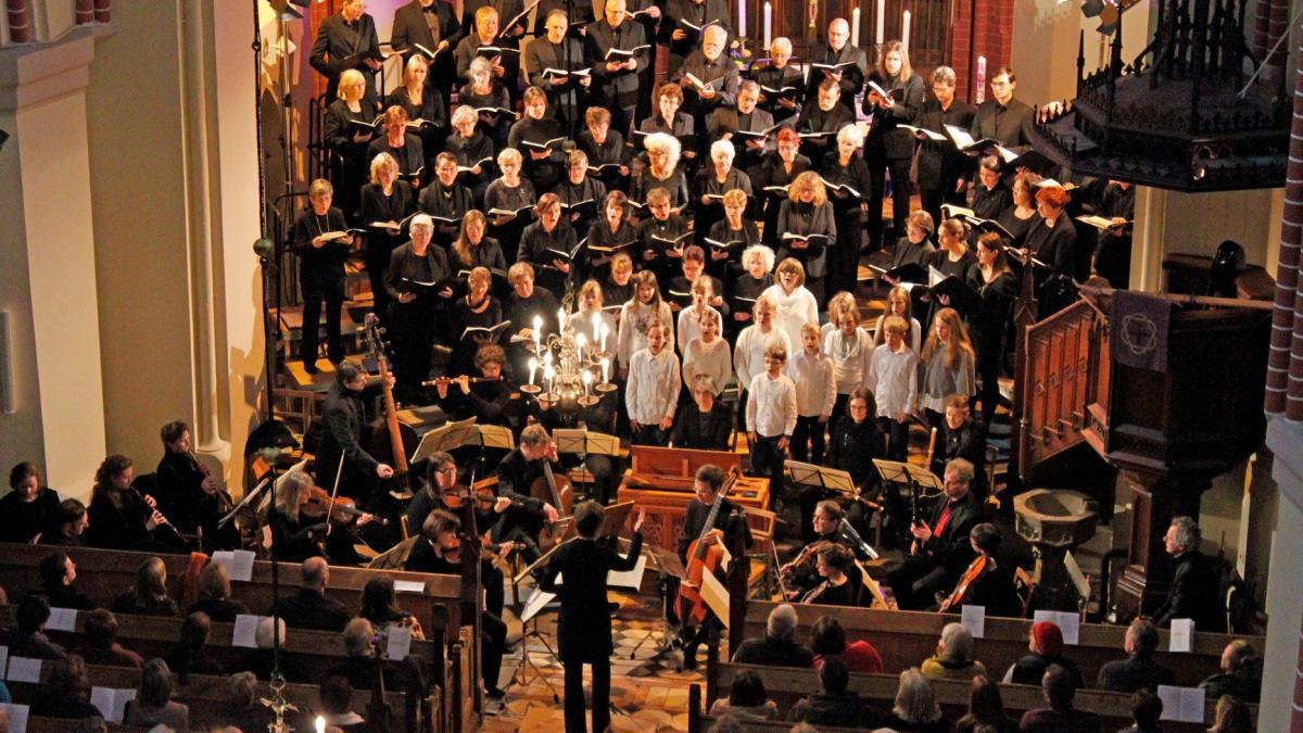 Chöre und Orchester in der Georgenkirche