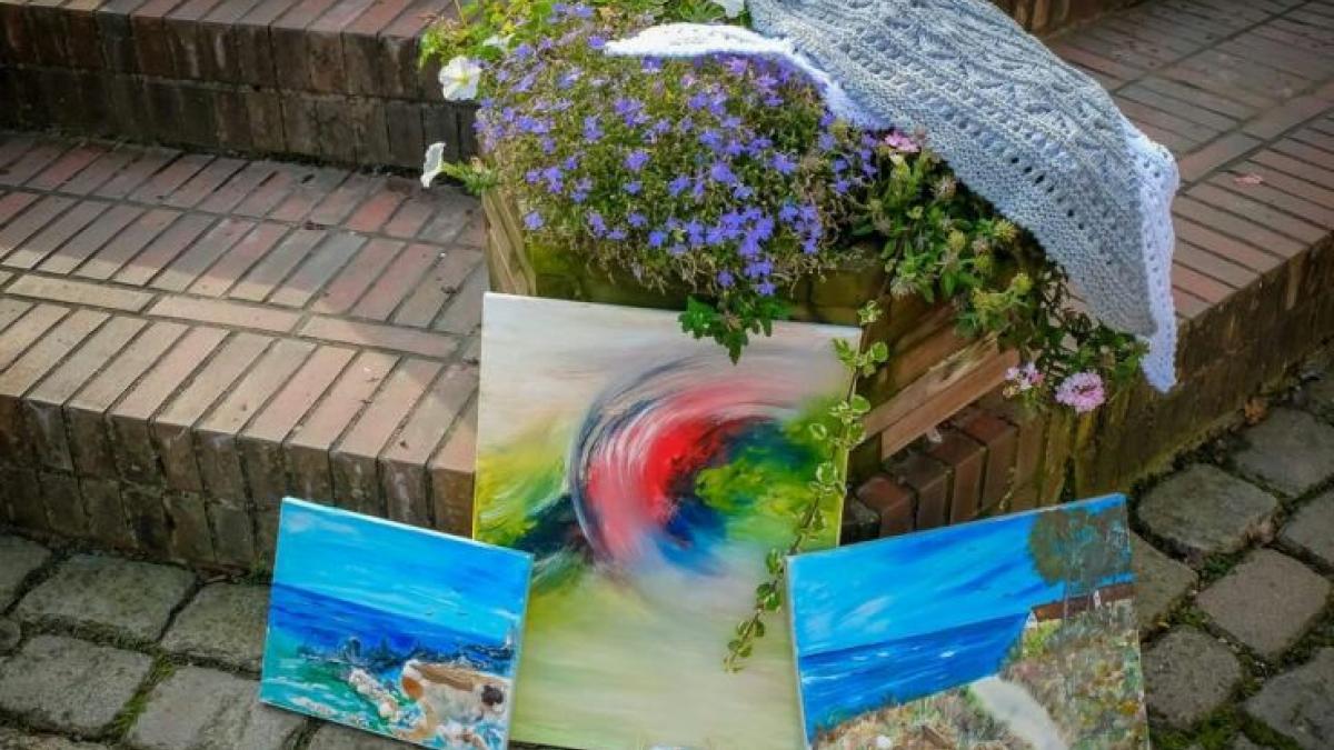 Malerei von Rosi Tscherch