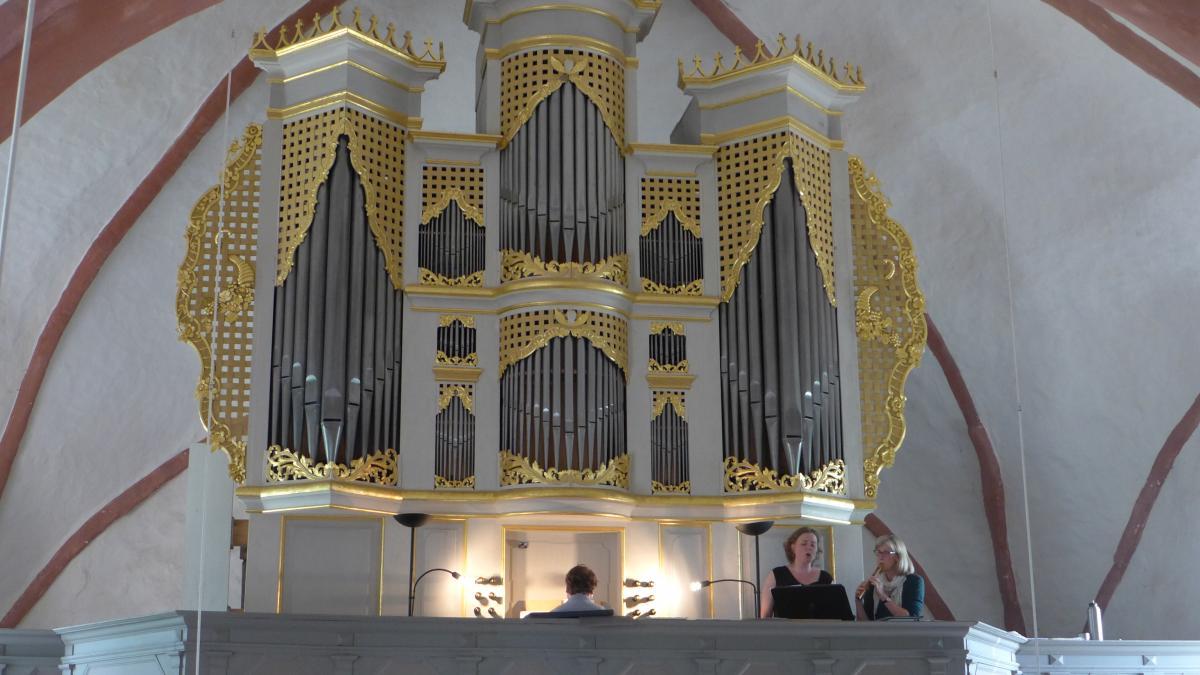 Konzert in der Dorfkirche Zettemin