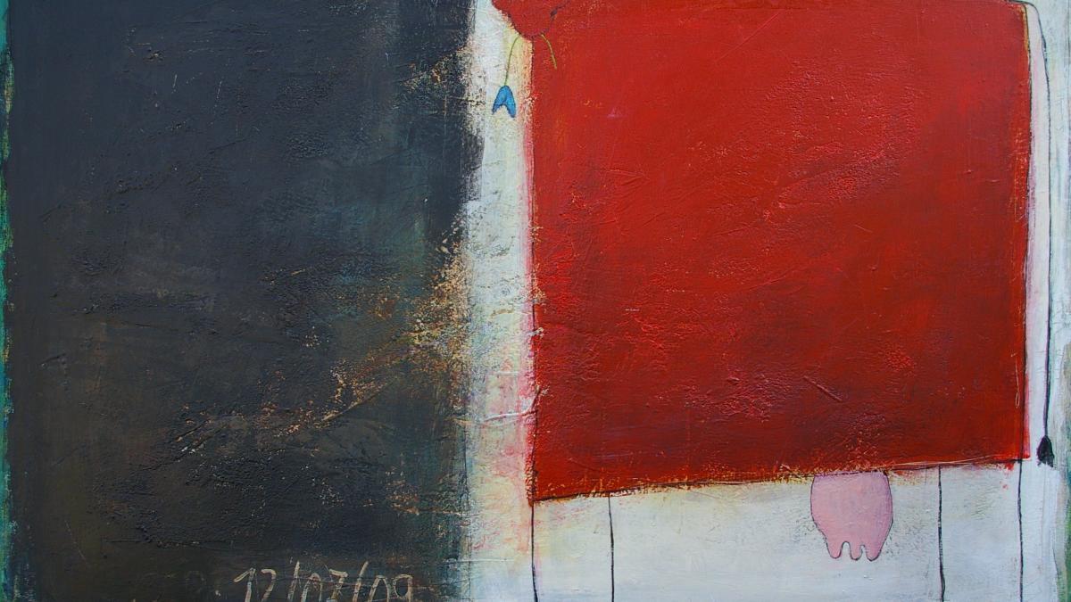 Rote Kuh, 100 x 140, 2.250 Euro