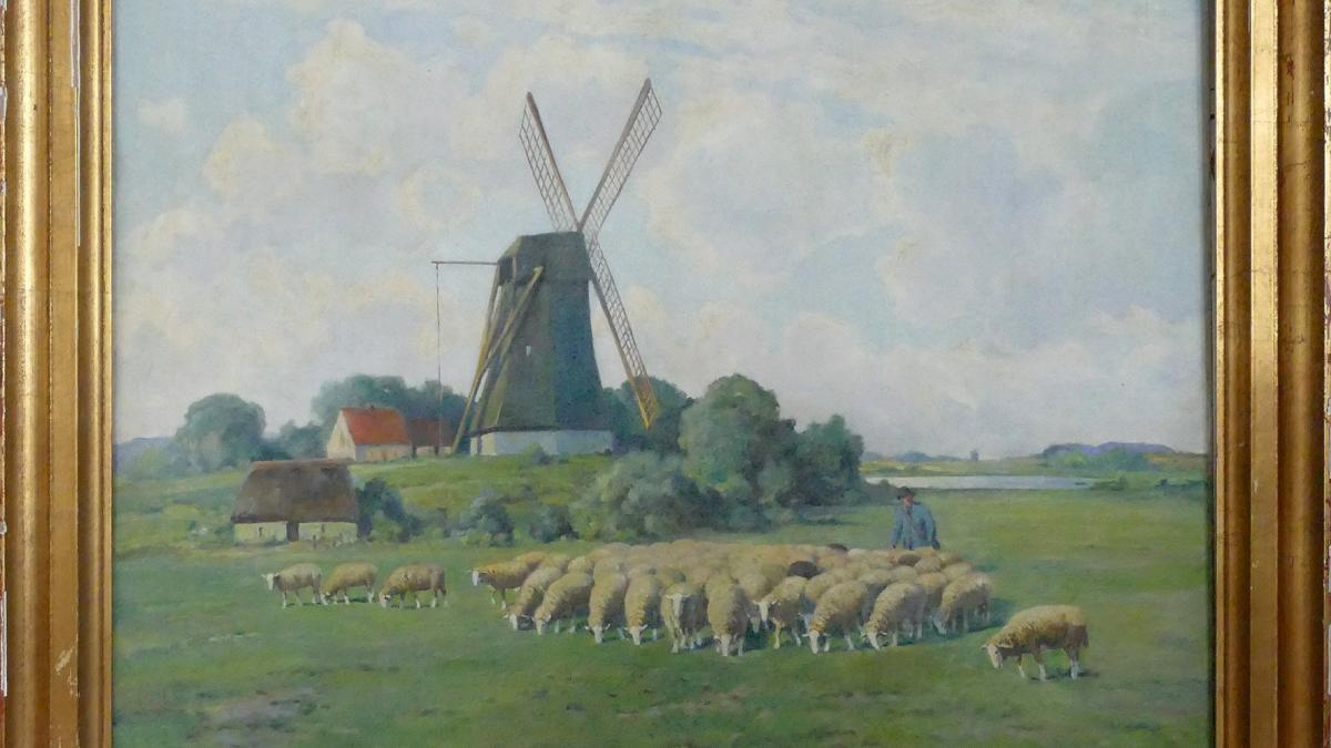 Paul Thomas, Mühle