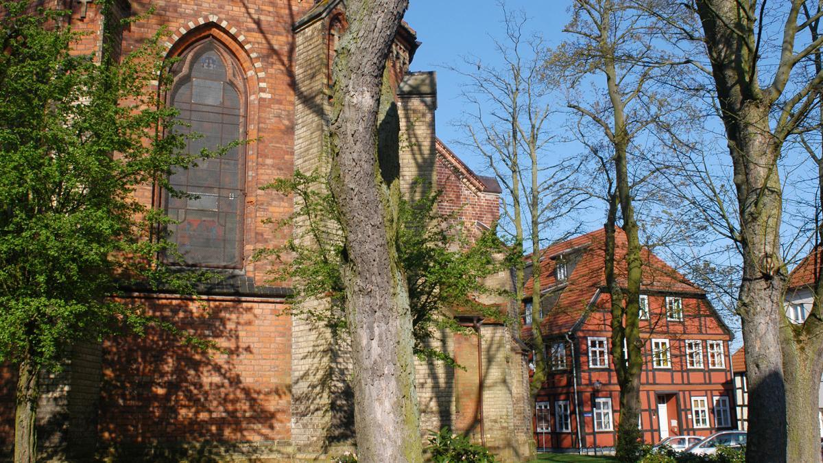 Waren (Müritz) Altstadt, Kirche St Georgen
