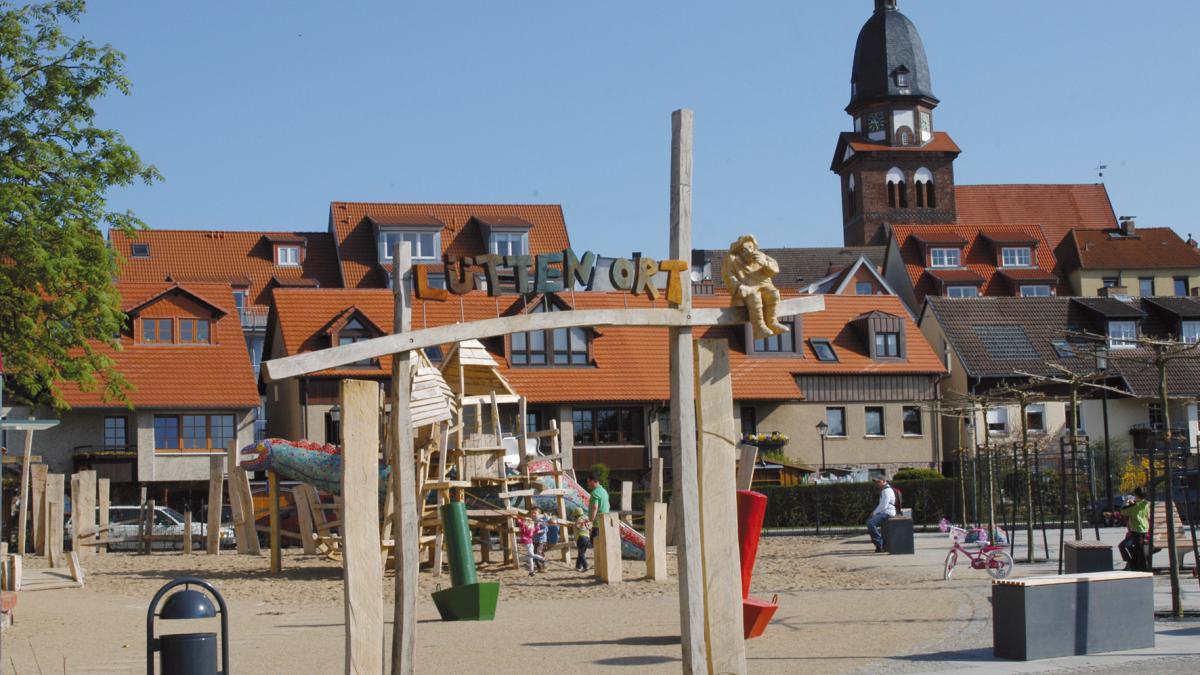 Waren (Müritz) Spielplatz am Hafen