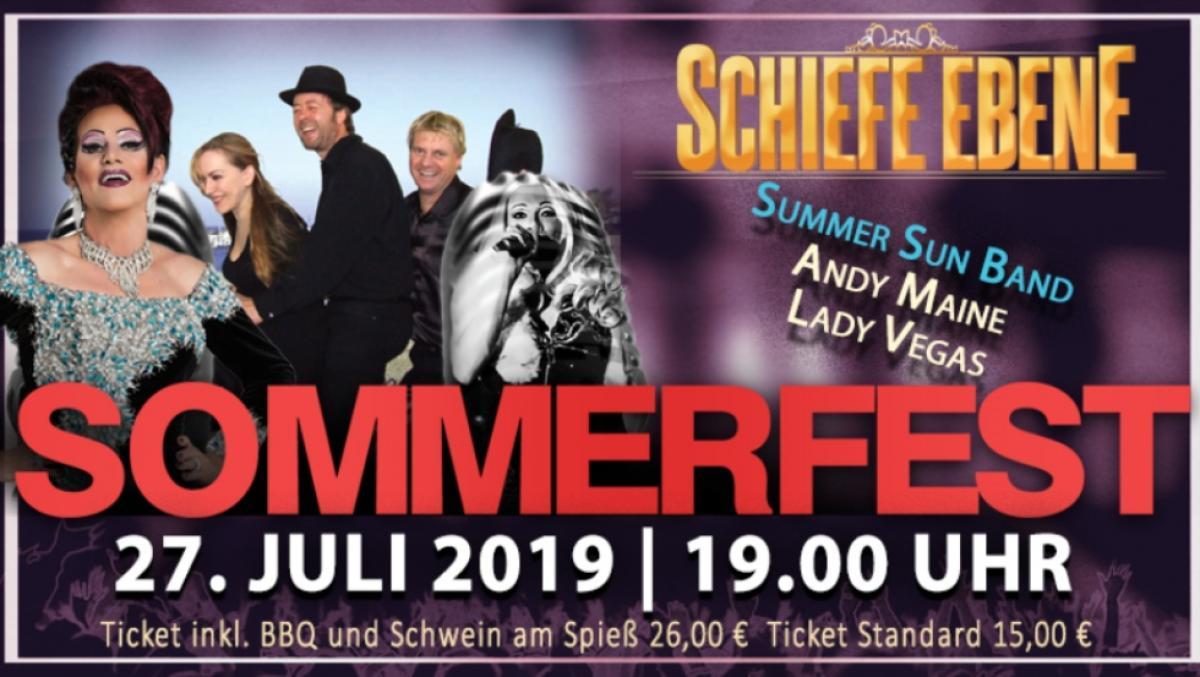 Sommerfest Schiefe Ebene
