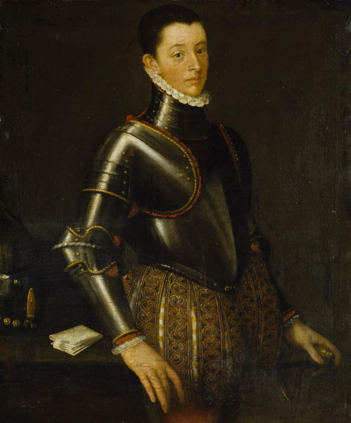 Bernardino Gatti: Alessandro Farnese, um 1565, Foto: Elke Walford