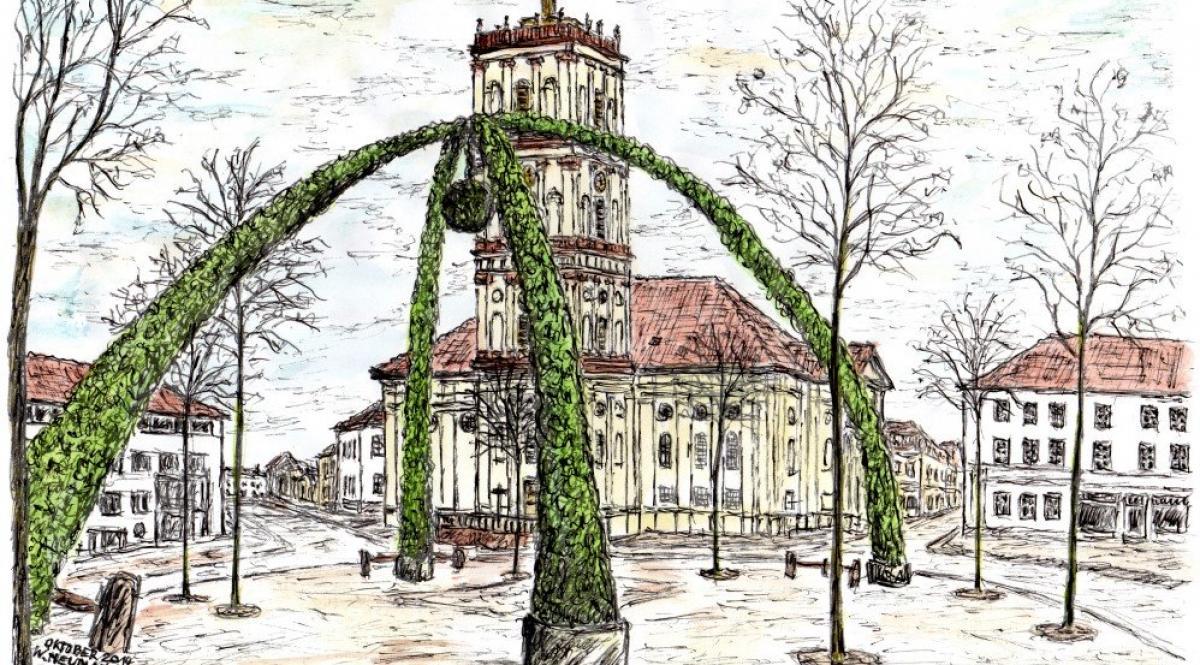 Weihnachtskrone Neustrelitz