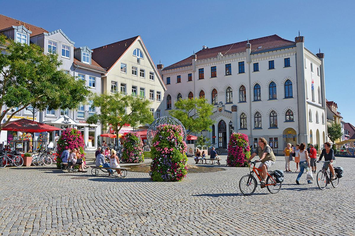 Marktplatz Waren (Müritz)